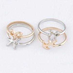 Zodiac Ring Set
